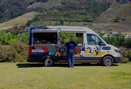 Brampton Wine Truck | Mobile Wine Truck for Events | Brampton Wines